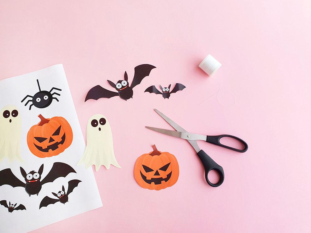 Makerist halloween dekoration gratis printable 2