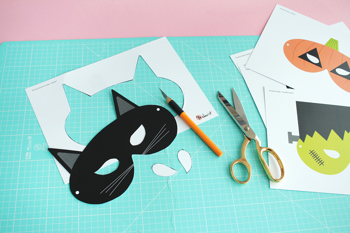 Makerist gratis printable halloween masken (3)