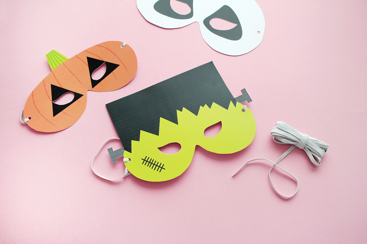 Makerist gratis printable halloween masken (5b)