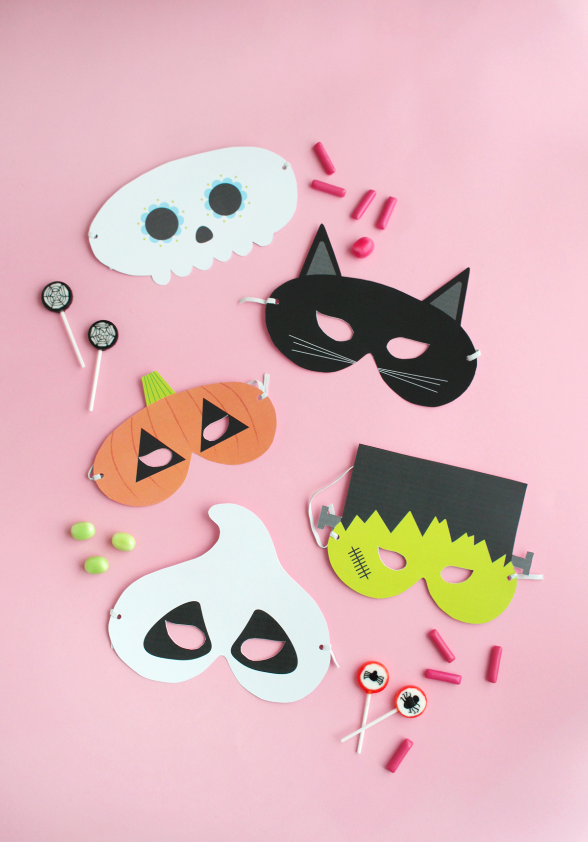 Makerist gratis printable halloween masken (6)