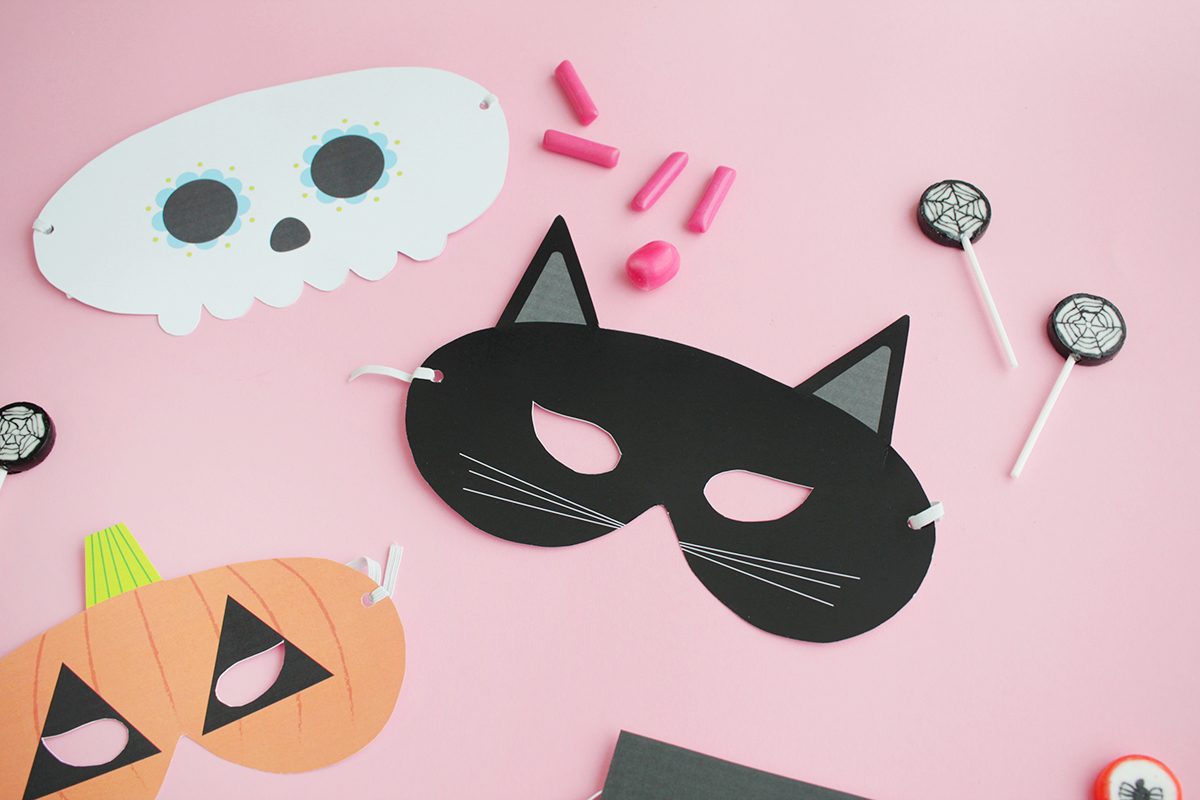 Makerist gratis printable halloween masken (9)