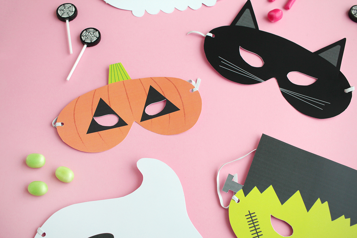 Makerist gratis printable halloween masken (10)
