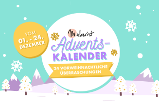 Makerist adventskalender tile
