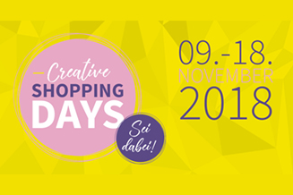 Creative shopping days facebook key visual tile